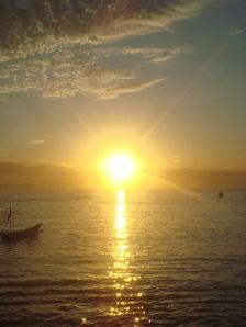 Sunrise di Pangandaran